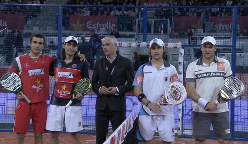 Video de la final del Master Padel Pro Tour 2012