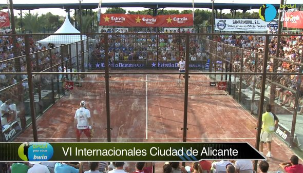 Video de la final del Padel Pro tour de Alicante 2011