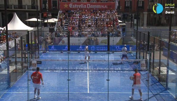 Video de la final del Padel Pro tour de Valladolid 2011