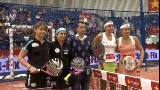 Video de la final femenina del Padel Pro Tour de Valencia