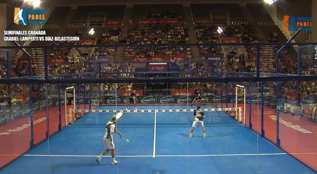 Video partido Semifinal Granada 2013 Grabiel - Lamperti vs Díaz y Belasteguín