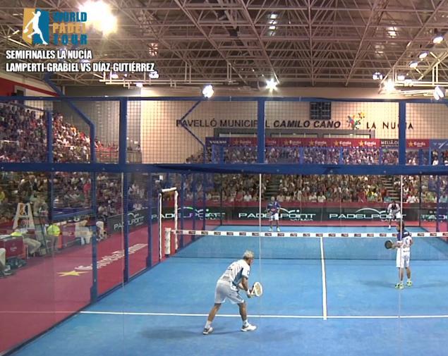 Video partido Semifinal La Nucia Lamperti - Grabiel vs Gutierrez - Diaz