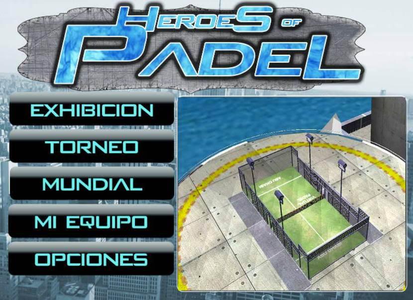 Videojuego padel Heroes of Padel