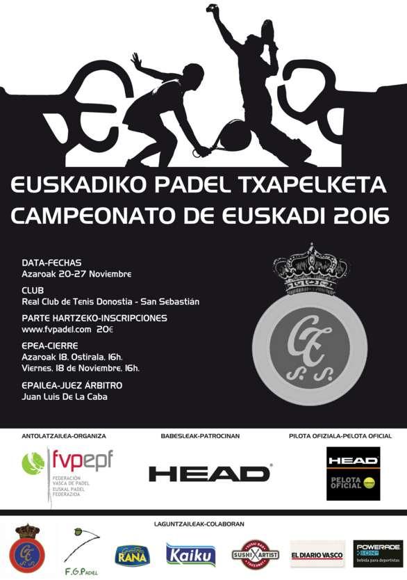 Campeonato Euskadi de Padel 2016