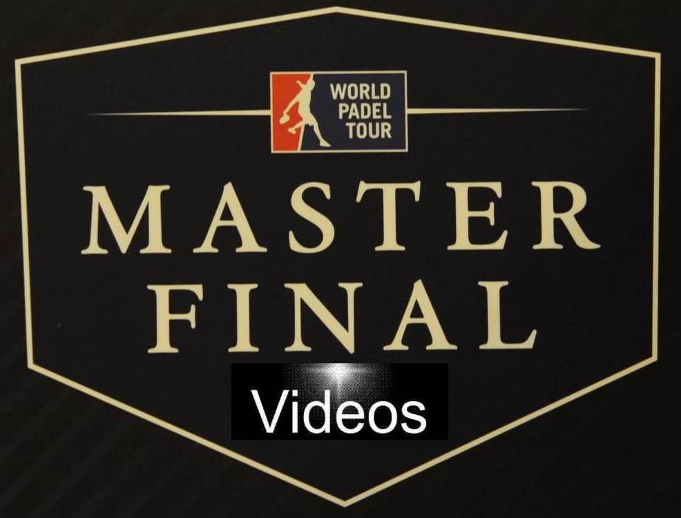 Videos Master World Padel Tour