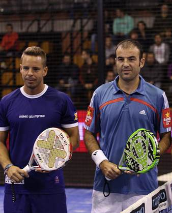 Willy Lahoz y Aday Santana nueva pareja World Padel Tour