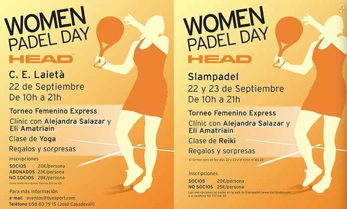 Women Padel Day HEAD en el Laieta y en el Slampadel