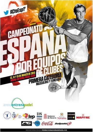 XXXI Campeonato de España de pádel por equipos 1a Categoría