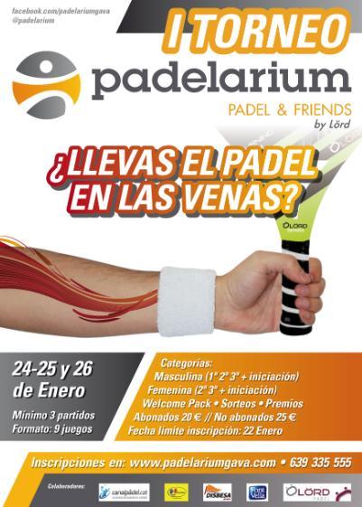 | Torneo Padel padelarium