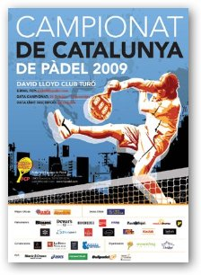 Campeonatos Absolutos de Catalunya de padel 2009