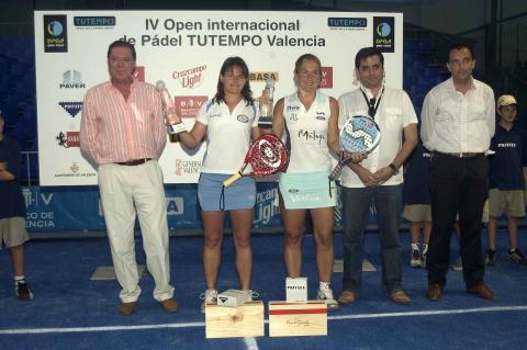 Carolina Navarro y Catalina Tenorio ganan su primer torneo del padel pro tour en el tutempo de Valencia