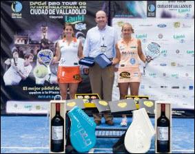 Carolina Navarro y Alejandra Salazar ganan en Valladolid