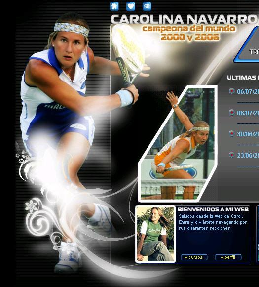 Nueva web de Carolina Navarro