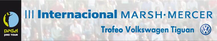 Presentación III Internacional de Pádel Marsh Mercer