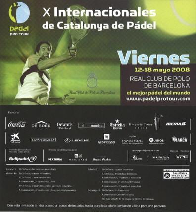 X internacionales de catalunya padel
