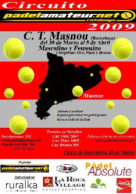 Circuito padel amateur en el club de tenis Masnou