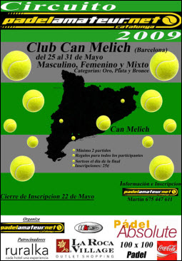 Circuito padelamateur en el club Can Melich