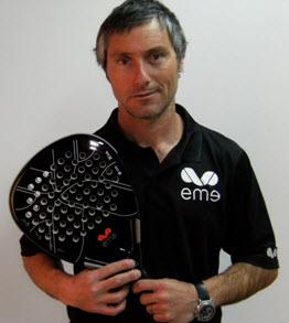 Miguel Sciorilli entrenador de los numero uno de padel