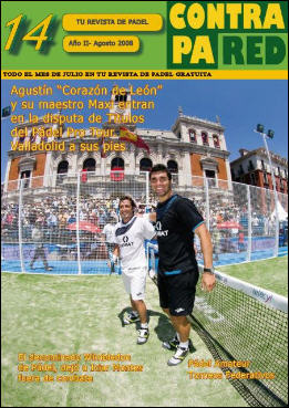 revista de padel gratuita contrapared no 14
