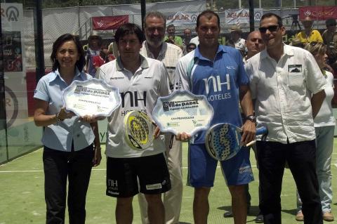 Cristian Gutierrez y Seba Nerone ganan en el Padel pro tour de Cajasur-Cordoba 2016