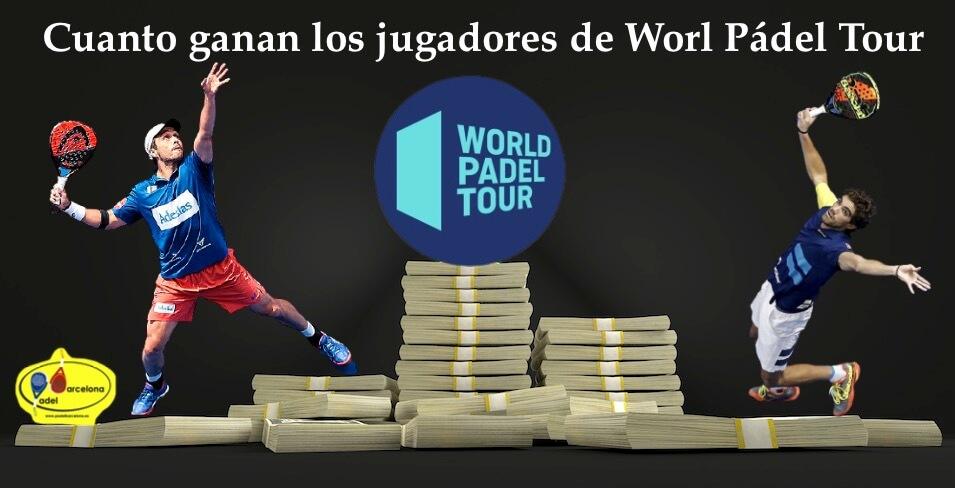 Cuanto ganan las jugadoras de World Padel Tour