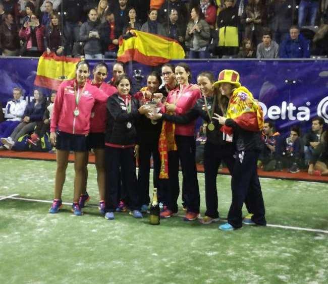 España campeona del mundo de pádel
