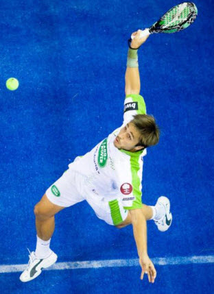 Fernando Belasteguin consigue su 6o premio Olimpia