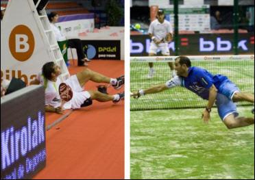 Fernando Poggi y Sebastián Nerone XIII Internacionales de Euskadi Copa Julio Alegria - www.padelbarcelona.es