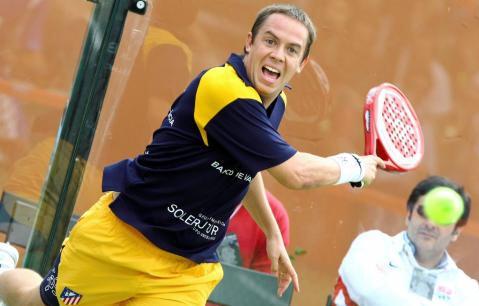 gaby reca en internacionales de Pádel Comunidad de Madrid Trofeo Axesor