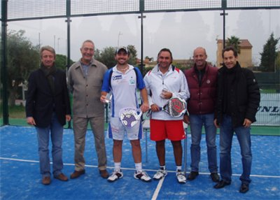 Gonzalo Diaz y Jordi Munoz Campeones de espana de padel