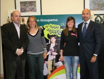 GROUPAMA Seguros nuevo sponsor de Carolina y Alejandra