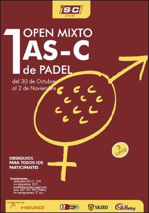 I Open mixto de padel en el Sanchez Casal