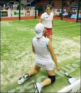 Iciar Montes y Neki Berwig  XIII Internacionales de Euskadi Copa Julio Alegria
