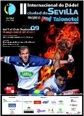 Nueva final en el Padel pro Tour de Sevilla