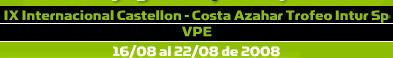 IX Internacional de padel de Castellon Costa Azahar