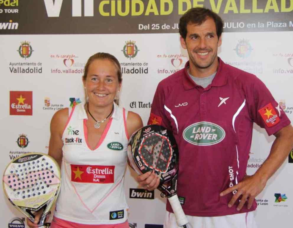Carolina Navarro y Juan Martín díaz