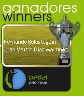 Fernando Belasteguín y Juan Martín Díaz ganan en el II Internacional de Pádel La Rioja
