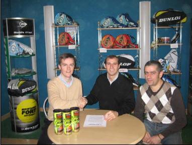 La federación Navarra de padel renueva con Dunlop