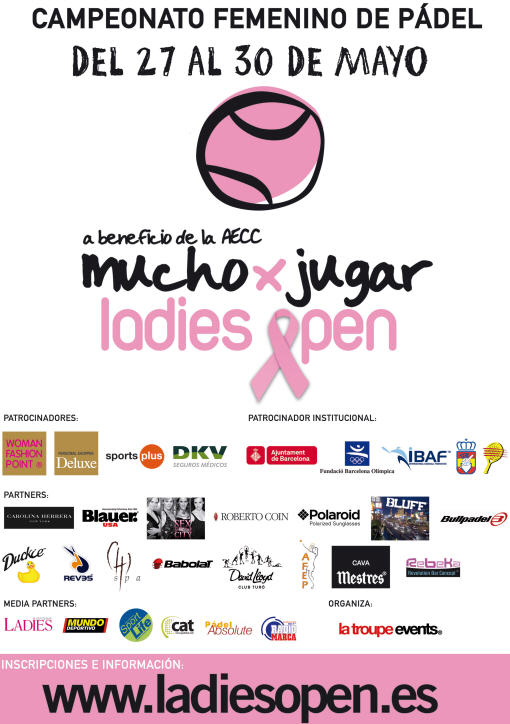 I ladies open de padel amateur en el David Lloyd de Barcelona