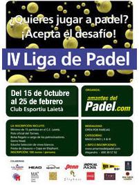 liga amantes del padel - www.padelbarcelona.es