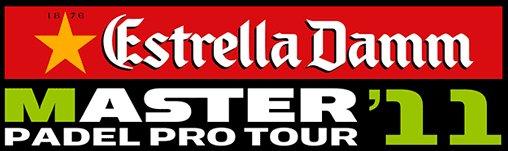 Logo Estrella Damm Master Padel Pro Tour 2011