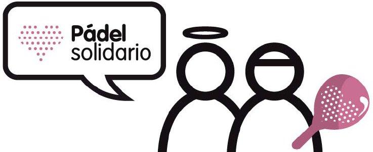 Logo pádel solidario