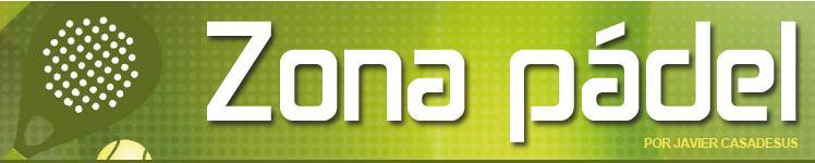 Logo Zona Pádel de Javier Casadesús y el diario SPORT