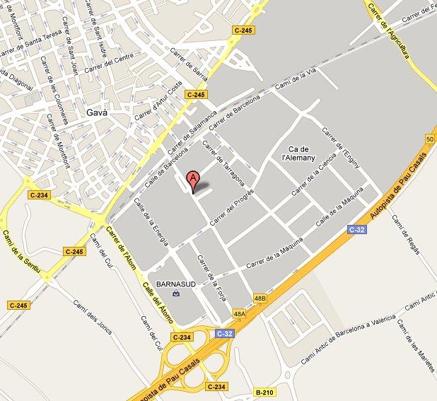 mapa_Padel_Indoor_Gava