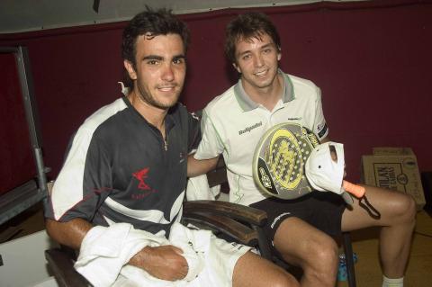 Marcello Jardim y Pablo Lima en el padel pro tour cordoba