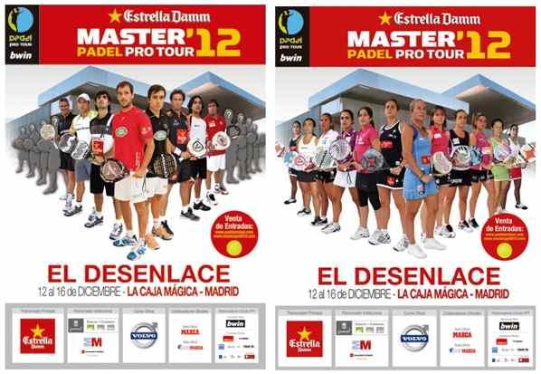 Videos de las finales del Master Padel Pro Tour 2012