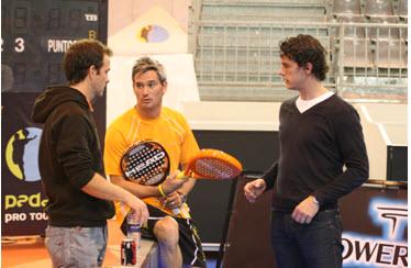 Miguel Lamperti y Head preparan la nueva pala del 2009