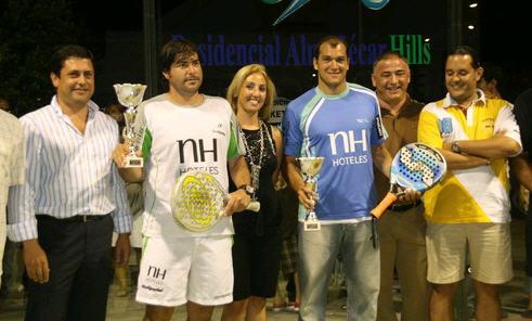 Sebatian Nerone y Cristian Gutierrez ganan a Juani Mieres y Pitu Losada en el II Open Internacional de padel almuñecar