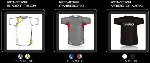 Nueva colección Vairo de ropa deportiva verano 2009