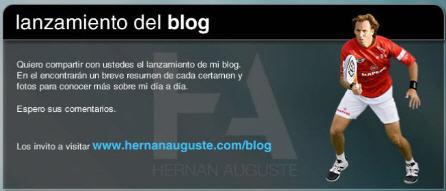 Nuevo blog de Hernán Auguste